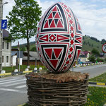 Kunstvoll bemalte Ostereier sind ein typisches Souvenir aus der Bukovina