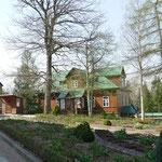 Die Wohnhäuser und Unterkünfte der rund 150 Nonnen, die hier heute noch leben