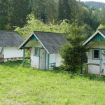 ehemalige Campinghütten