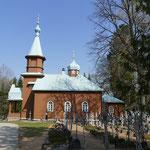 Eine Kapelle in der Klosteranlage Pühtitsa