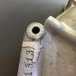 Riss repariert mit Auftragschweissen