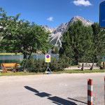 Parkplatz Obersee Sommer