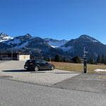 Parkplatz Sennerei Maran Arosa