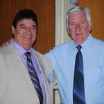 Rudy Casados (head usher) and Dave Winn