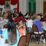 A Parish potluck lunch and celebration followed the Mass at Sacred Heart Parish Hall.