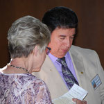 Janet Winn overees liturgical preparations.