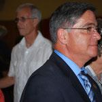 Cathy MacLean (Chair, Pastoral Council), Joe Brown, Richard Reinero and Vickie Henderson
