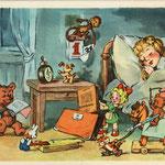 Завтра в школу. Худ. Р.Качанов и Б. Степанцев 1956