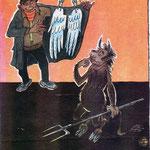 Сычев И. Крокодил. 1982. №10.