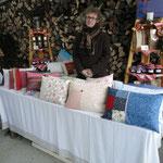Aussteller auf dem alljährlichen Adventsmarkt Brodingberg