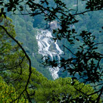 .....auf unserer Wanderung sahen wir weitere Wasserfälle - teilweise sehr hoch.