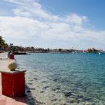 Strandpromenade von La Paz ist vielleicht 5 km lang .....