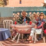 ...Berber-Omlett bei Abdou - schmeckte köstlich...