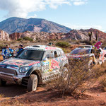 ...die Allrad Minis die die letzten beiden Dakar Rally´s dominiert haben...