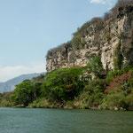 Einfahrt in den Sumidero Canyon