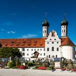 Das Kloster Benediktbeuren...