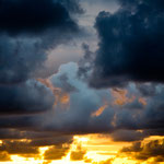 .....die Wolkenformationen haben sich minütlich verändert.....