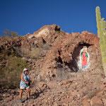 Eine Wanderung zur heiligen Madonna hoch oben auf dem Berg .....
