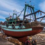...und eine Werft für Holzschiffe