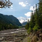 """....entlang des White Rivers"""" - ein reiner Gletscherfluss....."""