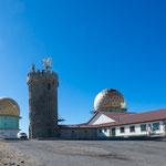 ...Pico Estrela hatte früher mal diese Sternwarte...