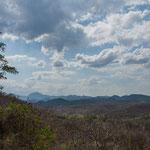 ....im Hintergrund das Bergland von Nicaragua