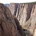 """.... den der """"Gunnison River"""" in 2 mio. Jahren gegraben hat ....."""