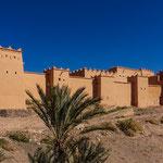 ...diese riesige Kasbah wurde erst im 18.ten Jahrhundert errichtet...
