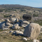 Die riesigen Granitsteine haben uns fasziniert...