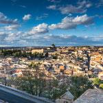 Blick auf die Altstadt von Toledo...