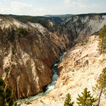 "Der ""Grand Canyon of Yellowstone""....."