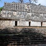 Ein Hochhaus vor 1400 gebaut - war dem Mayasoldaten vorbehalten