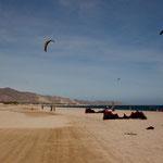 ..... ein toller Strand und sicheren Wind......