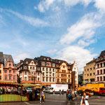 Besuch in der Altstadt von Mainz...