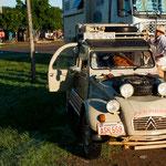 ...Walter mit seinen einzigartigen Fahrzeugen...