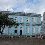 Die Freiheitsstatue von Kuba ist in Remedios....