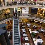...Recoleto hat ein top modernes Einkaufszentrum...