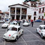 Taxco ist ein Eldorado des VW-Käfer