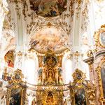 ...die Kirche des Kloster Andechs...