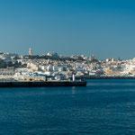 Tanger in Sicht...
