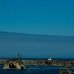 einer von 11 Leuchttürmen an der Oregon Küste