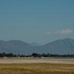 Chimulco ist umgeben von hohen Bergen - Vulkangebiet