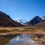 So nahe kommt man dem Aconcagua mit seinen fast 7.000 Metern offiziell...