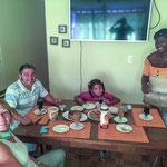 Bei Juan und Shirley haben wir mal wieder die sprichwörtlich südamerikanische Gast- und Hilfsbereitschaft erleben dürfen...