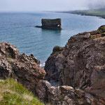 Der berühmte steinerne isländische Elefant