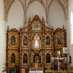 ....der vergoldete Altar....