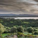 Der Lago del Coghinas - ein relativ großer Stausee