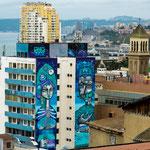 ...heute ist Valparaiso unter anderem ein beliebtes Künstler Domizil...