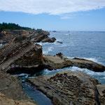 Simpson Reef: ungewöhnliche Felsgebilde....
