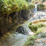 """...und der große Rion Cahabón"""" fließt unter den Badseen durch"""